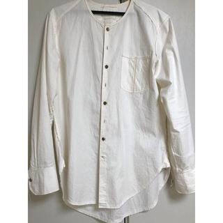 ポールハーデン(Paul Harnden)のAraki yuu ノーカラーシャツ size1(シャツ)