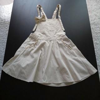 バービー(Barbie)の☆ Barbie バービー ☆ ワンピース  ジャンバースカート サイズ140(ワンピース)