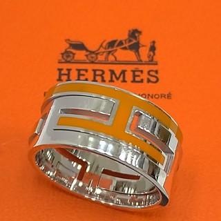エルメス(Hermes)のエルメスリング ムーブアッシュ オレンジ(リング(指輪))