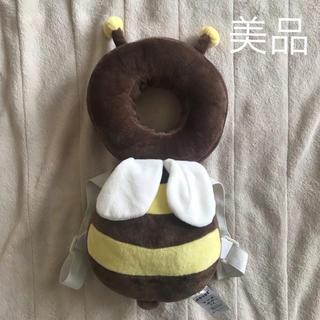 アカチャンホンポ(アカチャンホンポ)の【美品】ベビーセーフティークッション ミツバチ(リュックサック)