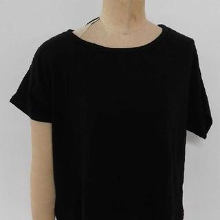 イエナスローブ(IENA SLOBE)の黒 Tシャツ(Tシャツ(半袖/袖なし))