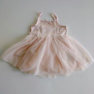 ベビーギャップ(babyGAP)のチュールドレス Size 70(ワンピース)