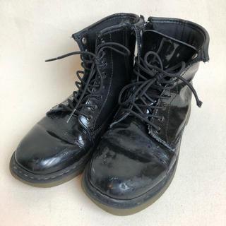 ドクターマーチン(Dr.Martens)のドクターマーチン エナメルブーツ  20.5cm(ブーツ)