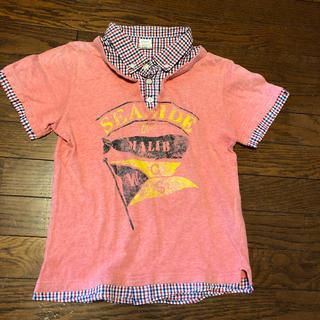 バックナンバー(BACK NUMBER)のkids 140重ね着風Tシャツ(Tシャツ/カットソー)