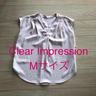 CLEAR IMPRESSION - クリアインプレッション トップス M