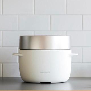 バルミューダ(BALMUDA)のribbon tokyoさま専用   BALMUDA バルミューダ炊飯器 白(炊飯器)