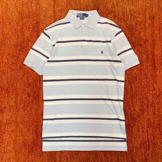 ポロラルフローレン(POLO RALPH LAUREN)のPolo by Ralph Lauren ラルフ ロゴ ボーダー ポロシャツ S(ポロシャツ)