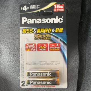 パナソニック(Panasonic)の備蓄用 単4電池 2本 リチウム電池 軽量 2倍長持ち(防災関連グッズ)
