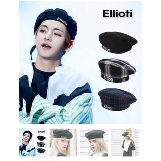 ボウダンショウネンダン(防弾少年団(BTS))のEllioti ベレー帽 2018ss(ハンチング/ベレー帽)