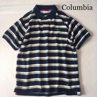 コロンビア(Columbia)のColumbia コロンビア オムニウィック スポーツ ボーダー ポロシャツ(ポロシャツ)