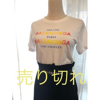 バレンシアガ(Balenciaga)のbalenciaga tシャツ バレンシアガ ロゴtシャツ  カットソー(Tシャツ(半袖/袖なし))