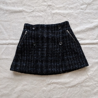 ボンポワン(Bonpoint)のボンポワン 6a ツイードスカート(スカート)