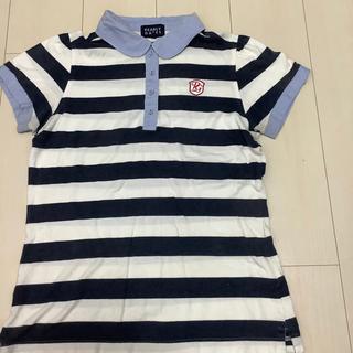 パーリーゲイツ(PEARLY GATES)のパーリーゲイツ  パフスリーブボーダーシャツ(カットソー(半袖/袖なし))