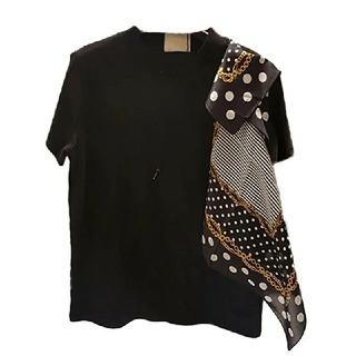 ドゥロワー(Drawer)のスカーフ Tシャツ(Tシャツ(半袖/袖なし))