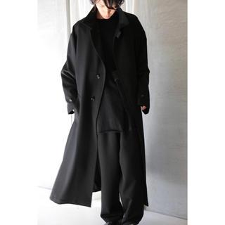ヨウジヤマモト(Yohji Yamamoto)のyohji yamamoto pour homme 17aw ギャバコート(チェスターコート)