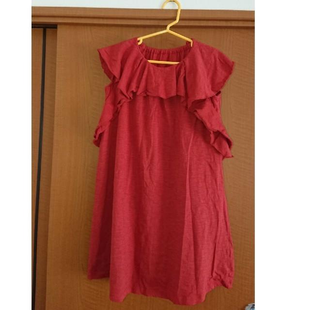 GU(ジーユー)の未使用 GU ワンピース120㎝  キッズ/ベビー/マタニティのキッズ服 女の子用(90cm~)(ワンピース)の商品写真