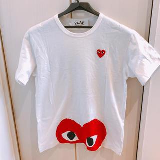 コムデギャルソン(COMME des GARCONS)のコムデギャルソン プレイ Tシャツ(Tシャツ/カットソー(半袖/袖なし))