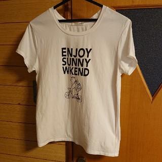 ジェラートピケ(gelato pique)のジェラートピケ:ロゴTシャツ(Tシャツ(半袖/袖なし))