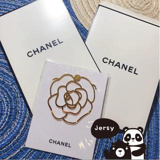 CHANEL - Chanel シャネル 椿 しおり ノベルティ 非売品 新品