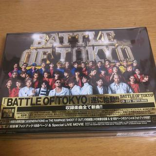 エグザイル トライブ(EXILE TRIBE)のJr EXILE アルバム battle of tokyo(ミュージシャン)