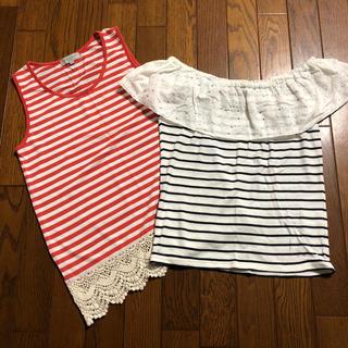 シマムラ(しまむら)のトップス(Tシャツ(半袖/袖なし))