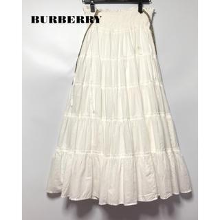 バーバリーブルーレーベル(BURBERRY BLUE LABEL)の美品バーバリーブルーレーベル ワンピース&ロングスカート(ロングスカート)