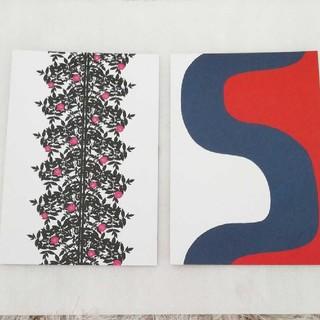 マリメッコ(marimekko)のマリメッコポストカード 2枚セット(写真/ポストカード)