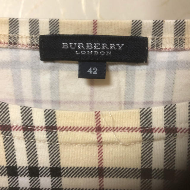 BURBERRY(バーバリー)の週末値下げBurberryカットソー レディースのトップス(カットソー(長袖/七分))の商品写真