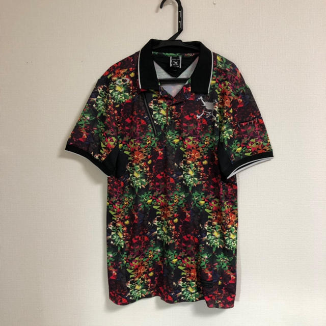Oakley(オークリー)のレア物 オークリー クレイジーカラー ポロシャツ           プーマ スポーツ/アウトドアのゴルフ(ウエア)の商品写真