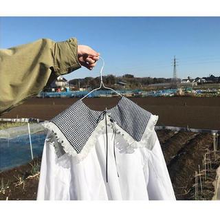 keisuke kanda - ギンガムチェック つけ襟