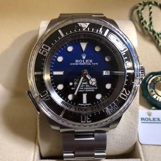 ロレックス(ROLEX)の生産終了モデル Dブルー116660 保護シール・ベゼルカバー付き 新品(腕時計(アナログ))