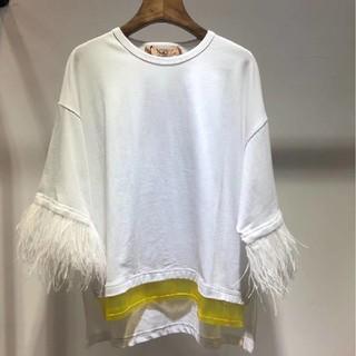 ヌメロヴェントゥーノ(N°21)のN°21Tシャツ綺麗美品19ss(Tシャツ(半袖/袖なし))