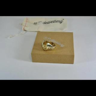テンダーロイン(TENDERLOIN)のo.p jewellery (オーピージュエリー) ホースシューリング 22号(リング(指輪))