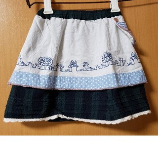 プチジャム(Petit jam)のプチジャム エプロン風スカート 90cm(スカート)