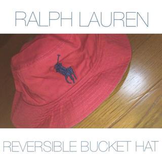 ポロラルフローレン(POLO RALPH LAUREN)のラルフローレン リバーシブル バケットハット(ハット)