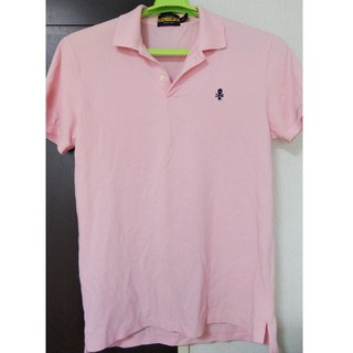 ラルフローレン(Ralph Lauren)のRalph Lauren RUGBY ポロシャツ ピンク M 未使用品(ポロシャツ)