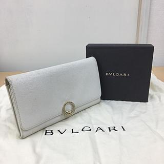 BVLGARI - 鑑定済み正規品 BVLGARI ブルガリ ジップ 長財布 送料込み