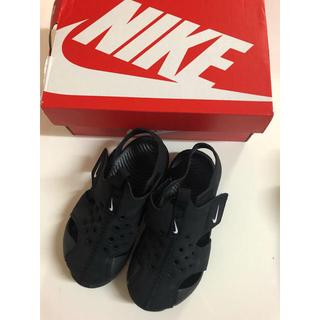 NIKE - ナイキ NIKE キッズ サンダル 靴 ブラック 黒 14㎝ 8c 新品 未使用