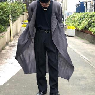 """ヨウジヤマモト(Yohji Yamamoto)のイッセイミヤケ  【PLEATS PLEASE】  """"ISSEY MIYAKE""""(カーディガン)"""