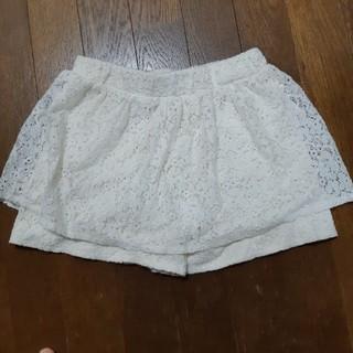 ジーユー(GU)の女の子キュロットスカート140(スカート)