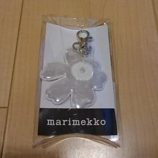 マリメッコ(marimekko)の新品未使用 marimekko マリメッコ ウニッコ キーホルダー リフレクター(キーホルダー)