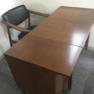 カリモクカグ(カリモク家具)の[2点セット]カリモク60 (学習机)