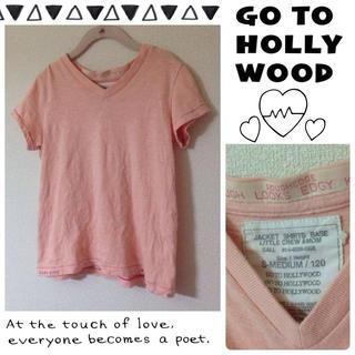 ゴートゥーハリウッド(GO TO HOLLYWOOD)のシルクネップTシャツ♡(Tシャツ/カットソー)