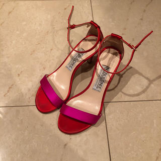 ペリーコ(PELLICO)のネブローニ 赤×ピンク サンダル NEBULONI E(サンダル)