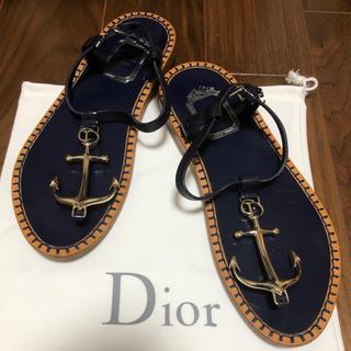 クリスチャンディオール(Christian Dior)のクリスチャンDIOR サンダル(サンダル)