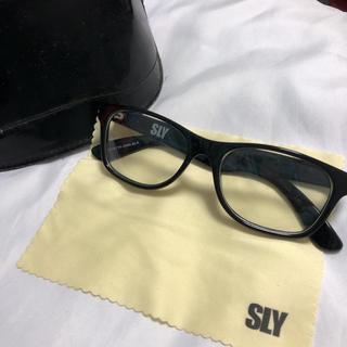 スライ(SLY)のSLY  スライ  伊達メガネ (サングラス/メガネ)
