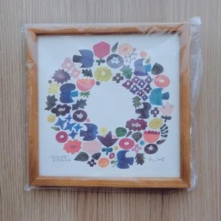 イデー(IDEE)の【新品】バーズワーズ poster wreath 額付き(アート/写真)