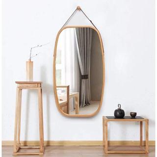 姿鏡 ウォールミラー 円型 鏡 大型 飾り 吊鏡 全身鏡
