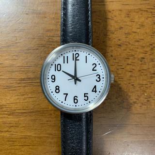 ムジルシリョウヒン(MUJI (無印良品))の無印良品 公園の時計 ソーラー式腕時計(腕時計(アナログ))