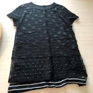 コムサイズム(COMME CA ISM)のコムサブロンドオフ  Tシャツ(マタニティトップス)